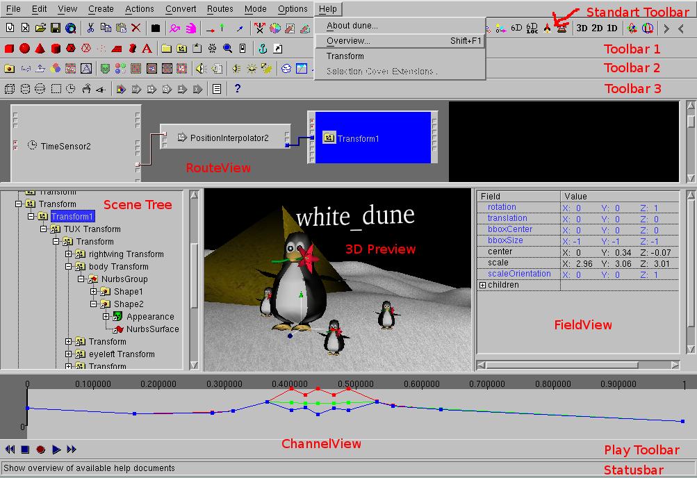 Tutorial of the VRML-Editor